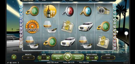 Mega Fortune videoslots casinospel