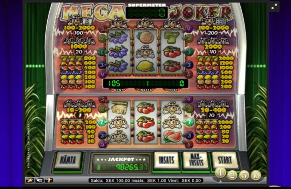 Mega Joker Videoslots Casinospel