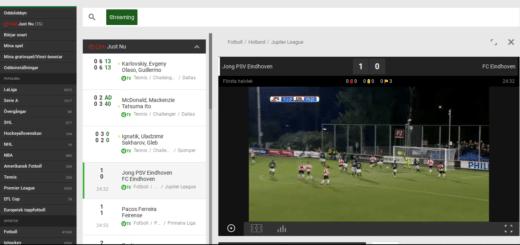 Unibet Live stream fotboll